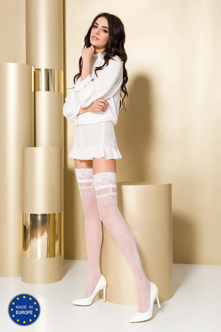 Hold-Ups Passion ST104 bianco [diabella_lingerie]