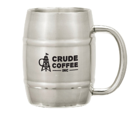 CCI stainless steel barrel coffee mug