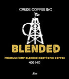Blended - Premium (THC Free) Hemp Nootropic Blended Coffee