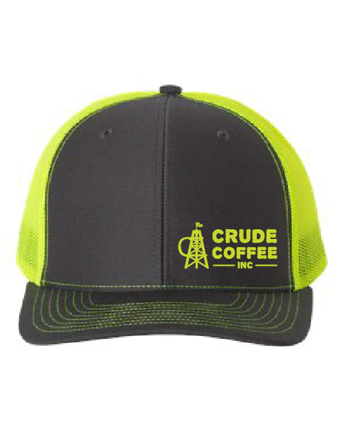 CCI Hat - Charcoal/Green