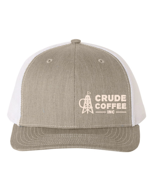CCI Hat - Heathered Gray/White