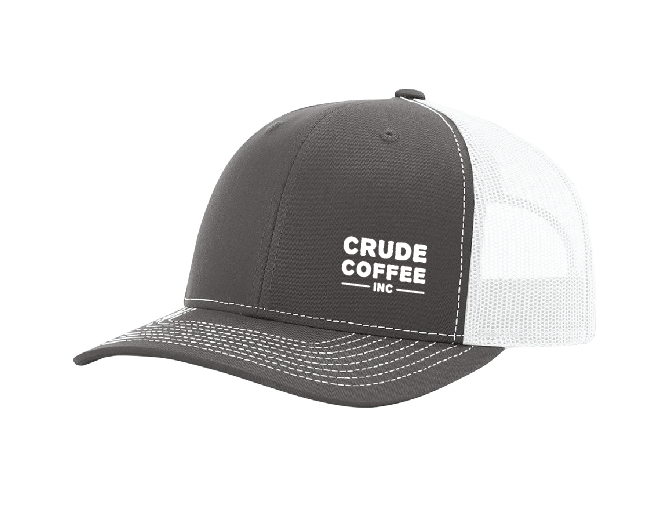 CCI Hat (No Derrick) - Charcoal/White