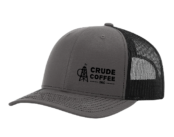 CCI Hat - Charcoal/Black