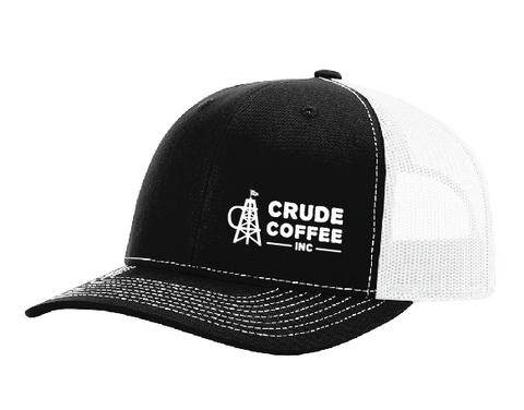 CCI Hat - Black/White