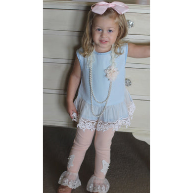 ML Kids - Chambray Top
