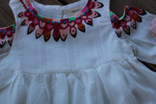 fiesta fun dress • pink & white •
