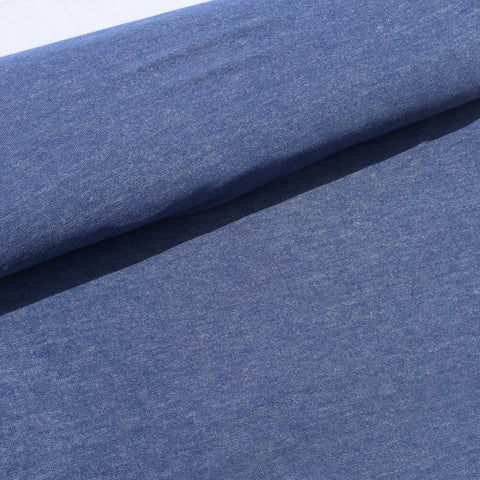Viscose Spandex Knit - Blue