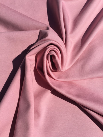 Cotton Jersey - Old Pink - Solid
