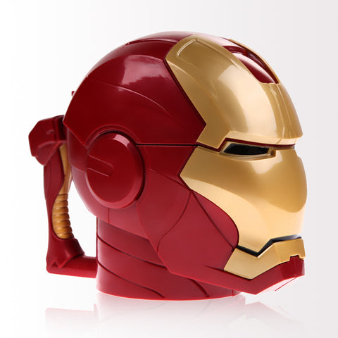 Kitchen Accessories Iron Man 3D Water Cup Black Eyes Kitchen Dringkware Mugs Birthday Barware