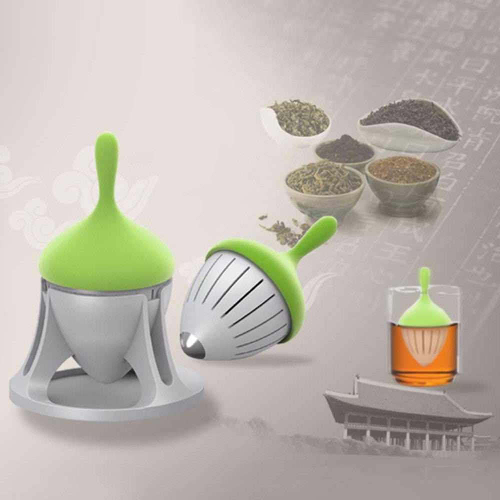 Tea Strainer Infuser Filter Creative Plastic Tea