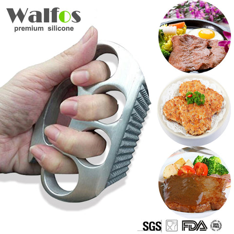 WALFOS Meat Hammer Aluminium Alloy Kitchen Handmade Meat Tenderizer Knuckle Pounders Professional Kitchen Accessories Sale