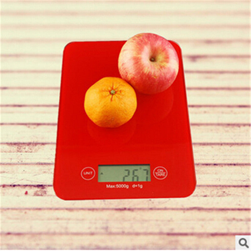 1pcs LCD balanca Digital electronic Kitchen scales household food Scale 5Kg x1g xiaomi libra bascula eletronicos floor scales