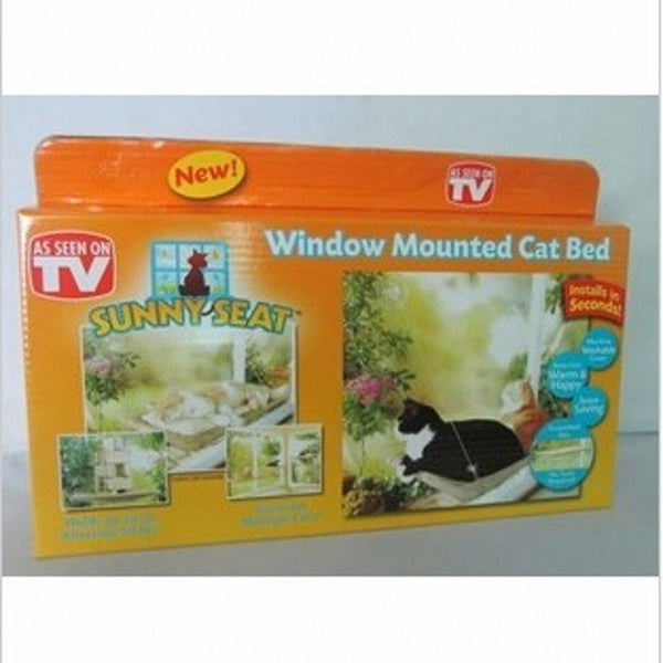 Hot Selling New Window Mount Cat Bed Pet Hammock As Seen On TV Sunny Seat Pet Beds Free Shipping