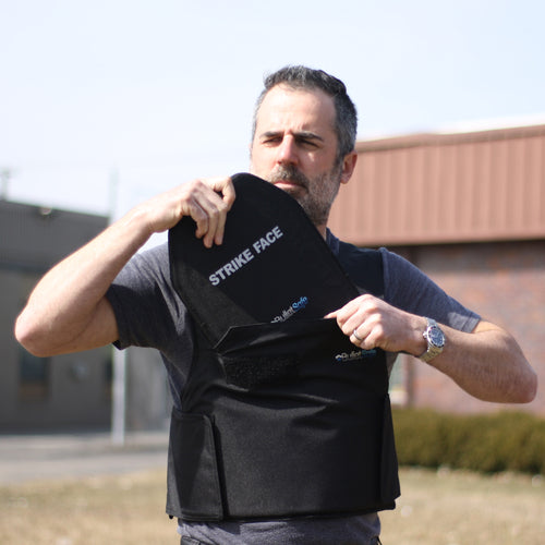 The Bulletsafe Bulletproof Vest - Plate Pocket