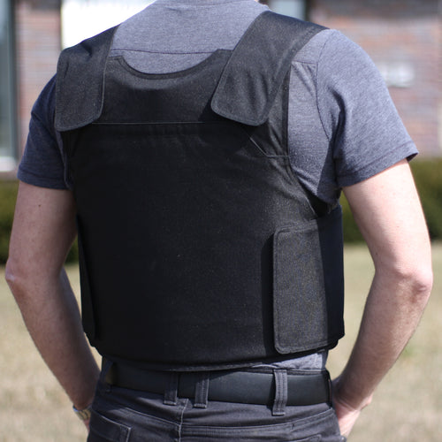 BulletSafe's Bulletproof Vest Rear Plate Pocket
