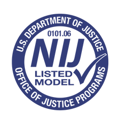 National Institute of Justice Certification Stamp