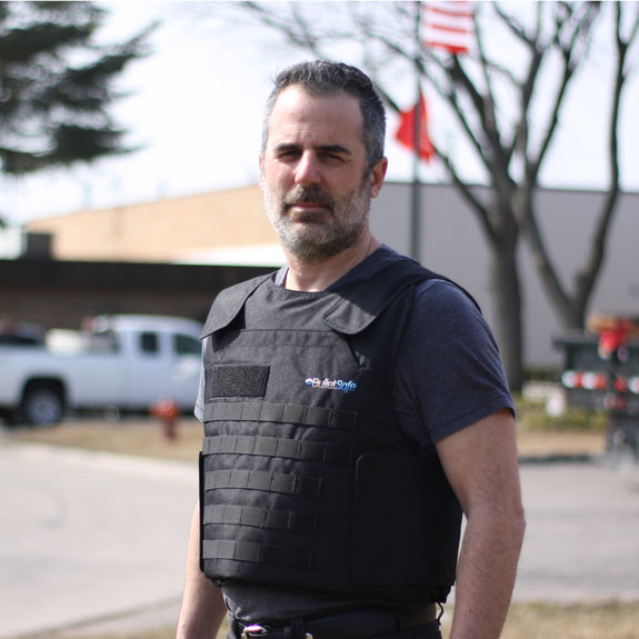 Company President Tom Nardone Wearing Our Vest