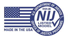 NIJ Certified and Made in the USA