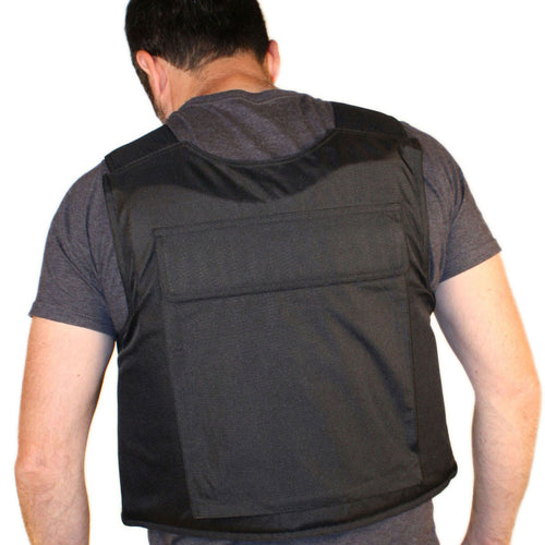 A View of the Rear Body Armor Pocket on the BulletSafe Vest