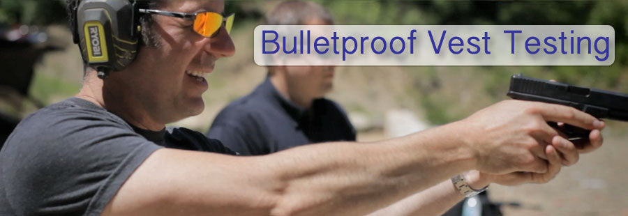 Information about how bulletproof vests are tested.