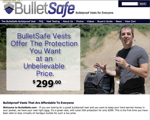 BulletSafe Acquires BulletProofVest.com - Aug 12th 2013