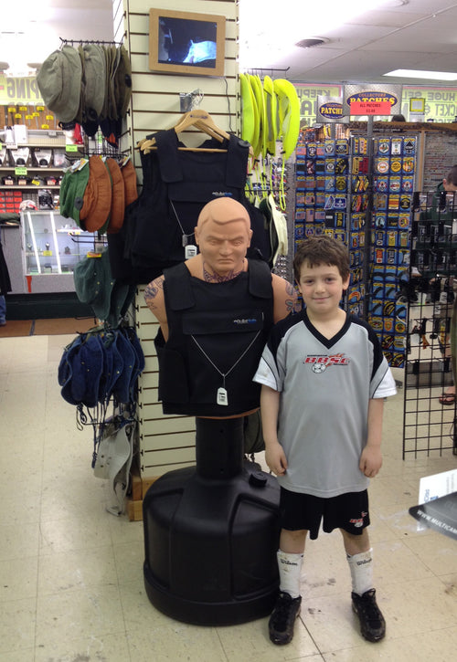 Free In-Store Displays From BulletSafe Bulletproof Vests - May 13 2014
