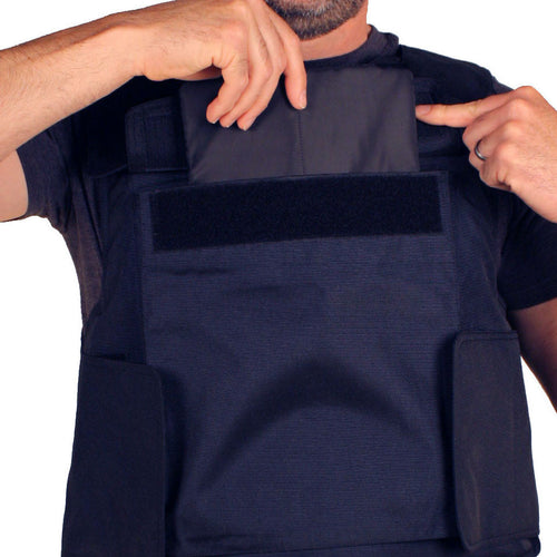 The Front Armor Pocket on the BulletSafe Vest