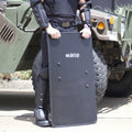 BulletSafe Bulletproof Shield Three Quarter View