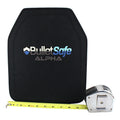 BulletSafe Ultralight Alpha Ballistic Plate - Only 3.3 lbs. - Level III -  Will Ship February 11th