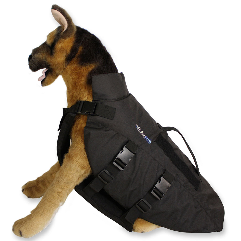 K 9 bulletproof vest for dogs by bulletsafe bulletsafe for Dog proof material