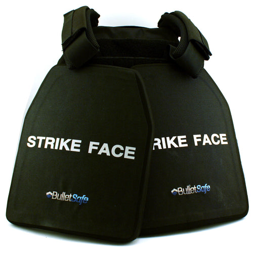 The BulletSafe Ready Pack - 2 Plates and A Carrier - BulletSafe