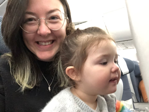 Mum Travelling Internationally Alone with a Toddler