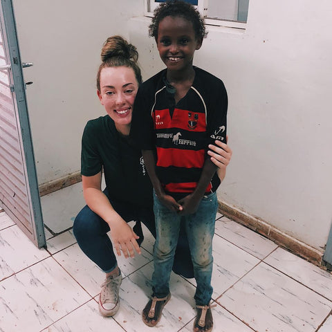 Madison Lola Randolph Djibouti Volunteer