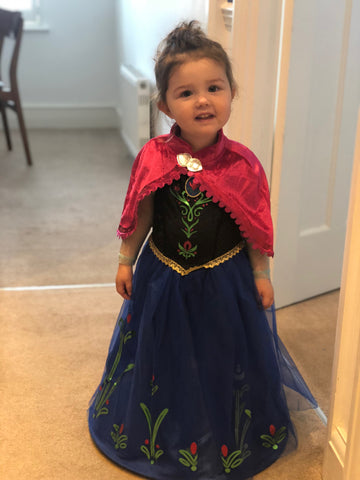 Princess Anna Costume from Frozen Purchased at Sainsbury's