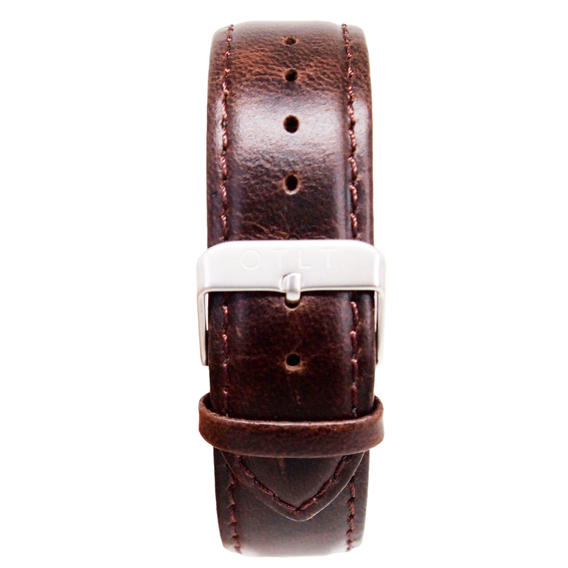 Mens Quick-Release Leather Band