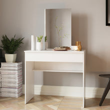 Boahaus Anne Dressing Table with Mirror and 1 drawer