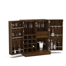 Boahaus Expandable Bar Cabinet with Wine Storage - Boahaus