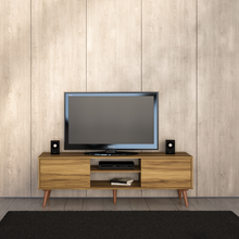 "Boahaus Stylish TV Stand up to 65"", Brown"