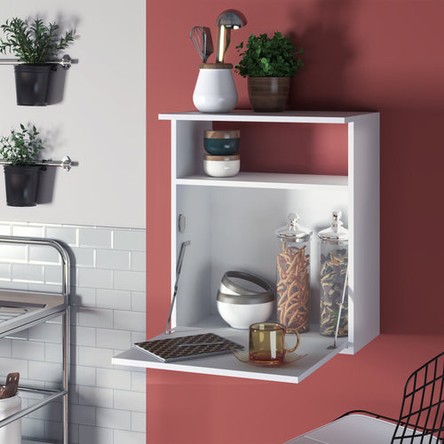 Boahaus Orleans Kitchen Stand, 01 cabinet, 01 shelf