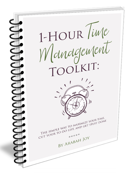 1-Hour Time Management Toolkit {11 pages}
