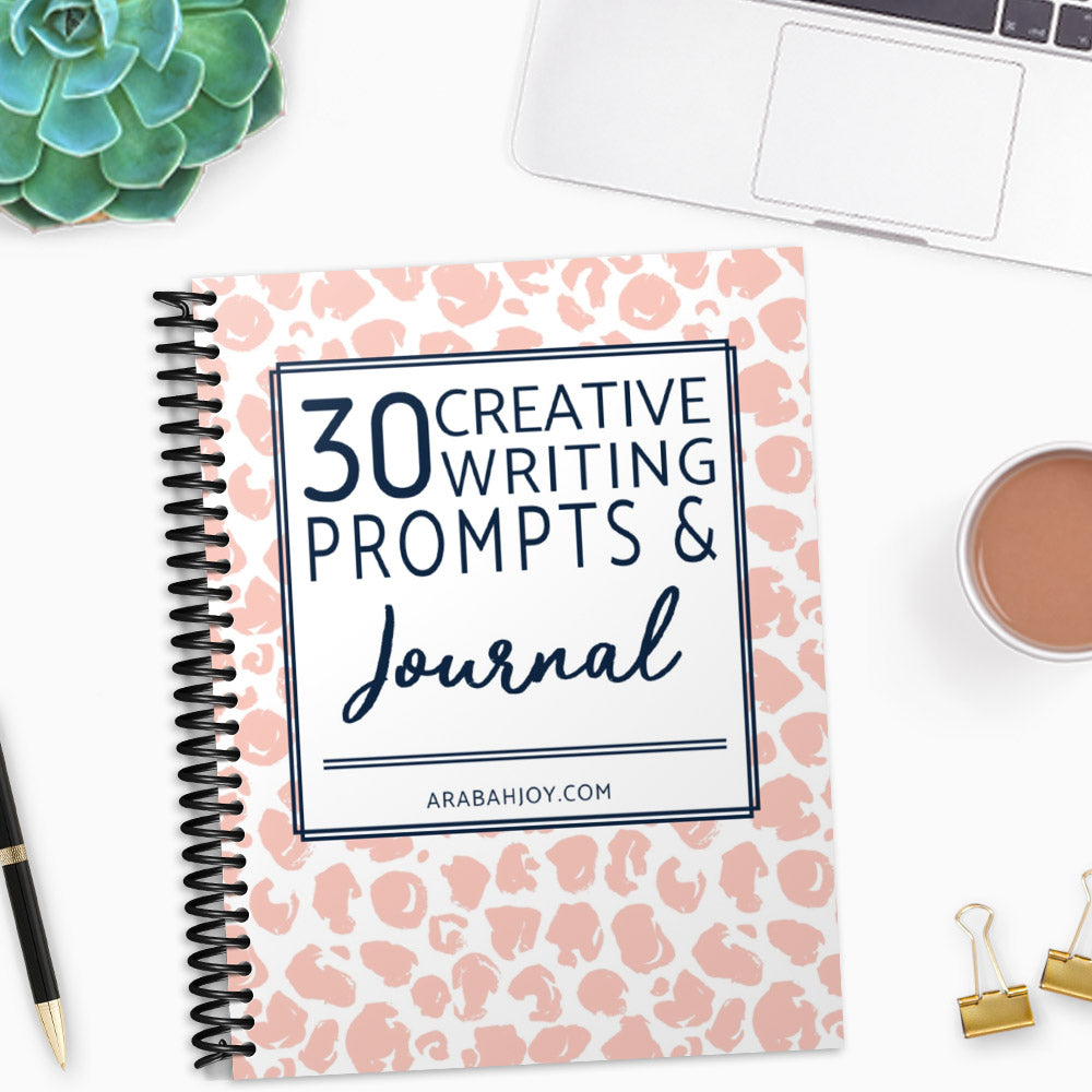 30 Creative Writing Prompts & Daily Journal