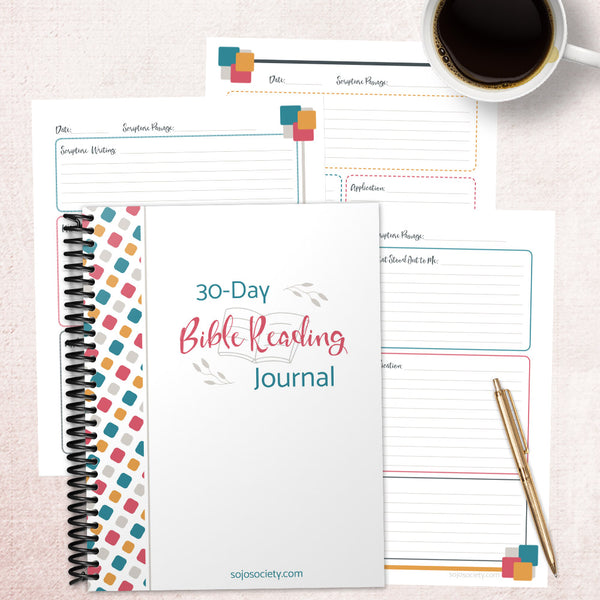 30-Day Bible Reading Journal