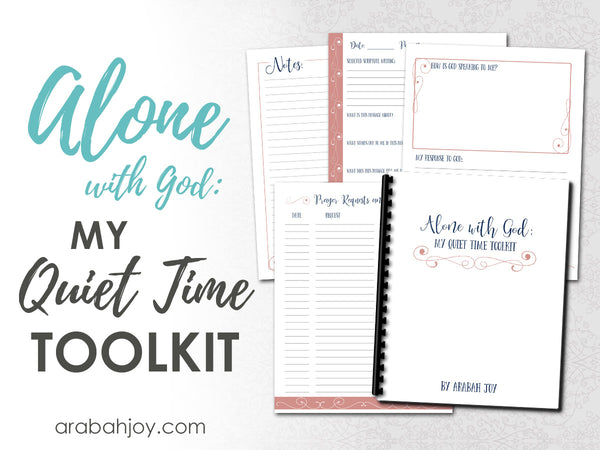 Alone With God: A Quiet Time Toolkit (5 pages)