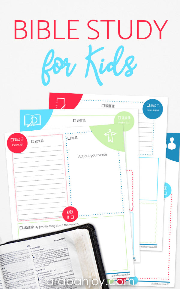 photo about Printable Bible titled The LORD is Terrific: A 30-Working day Bible Investigate for Small children 34-Website page Printable Bible Exploration Magazine