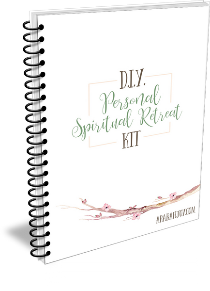 DIY Personal Spiritual Retreat Kit {21 pages}