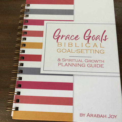 Grace Goals 2021- PHYSICAL SPIRAL BOUND! (Reg)