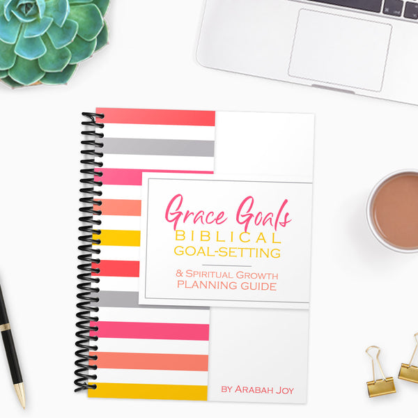 Grace Goals 2020: A Biblical Process for Setting Goals, Achieving Change, and Living Enabled. (82 pages)
