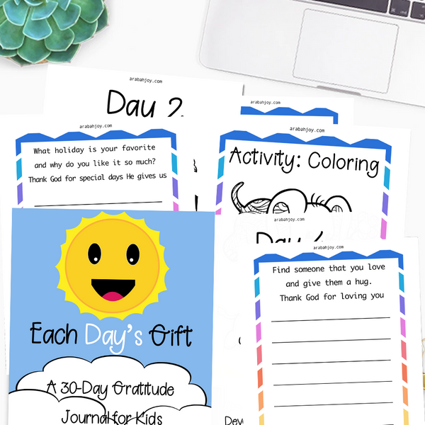 Every Day's Gift: A 30-Day Gratitude and Activity Journal for Kids