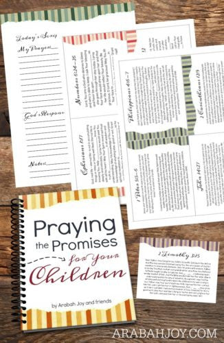Praying the Promises for Your Children- 40 Day Resource Kit