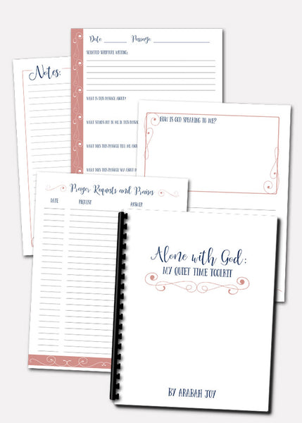 quiet time printables